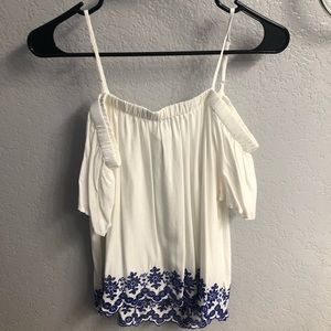 Old Navy Women's Off The Shoulder Blouse
